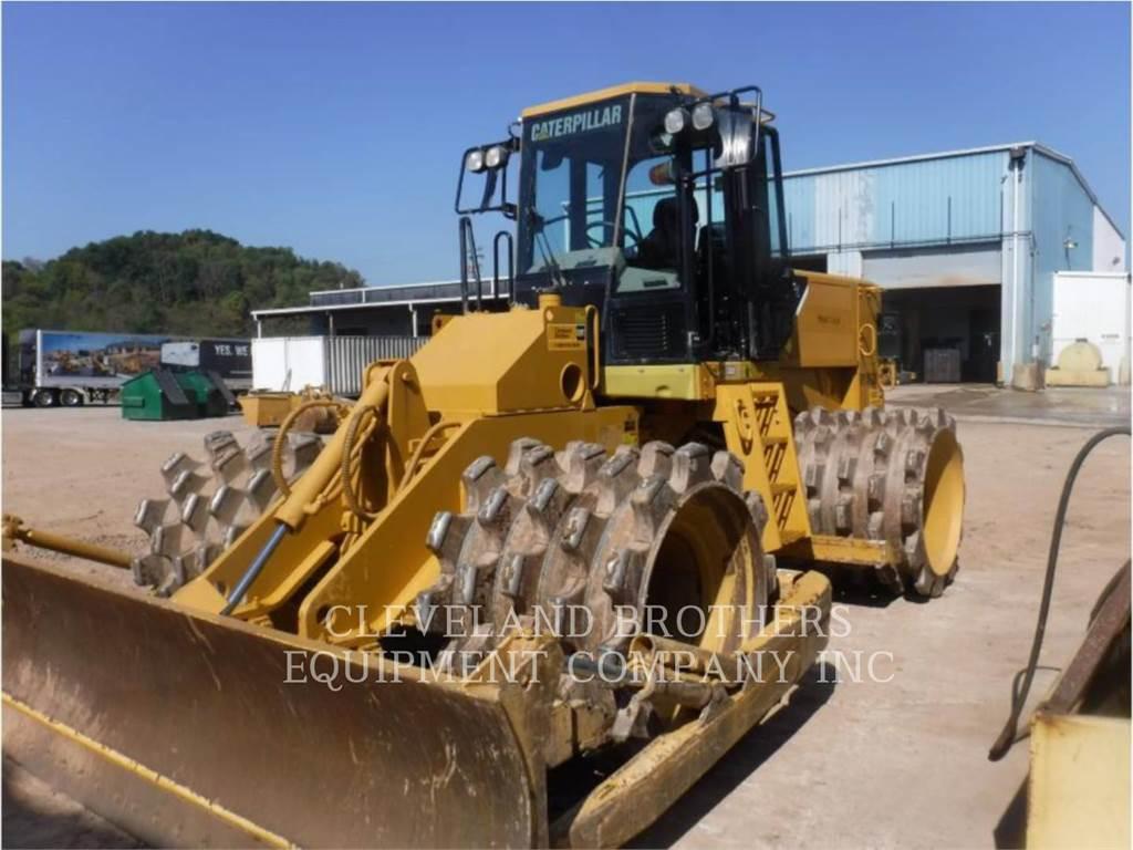 Caterpillar 815FII、廃棄物コンパクター、建設
