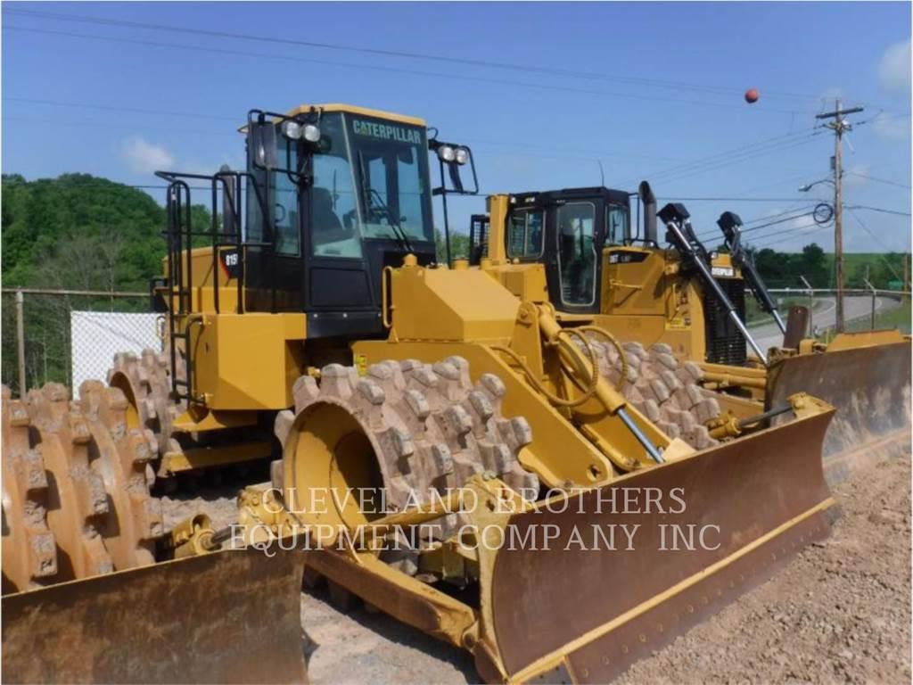 Caterpillar 815FII, Compacteurs de déchets, Équipement De Construction
