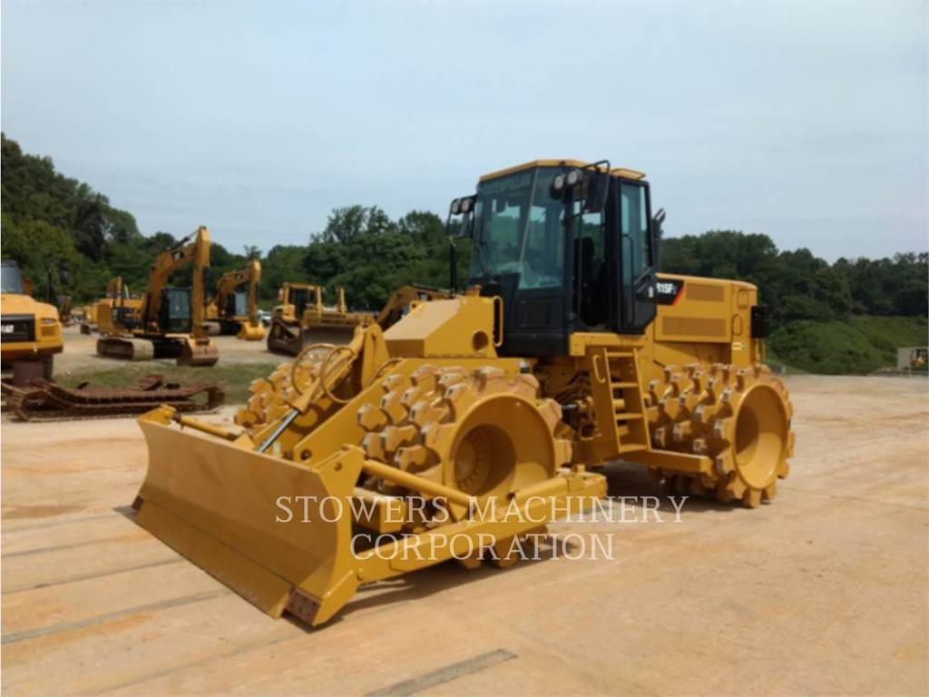 Caterpillar 815FII, Waste Compactors, Construction
