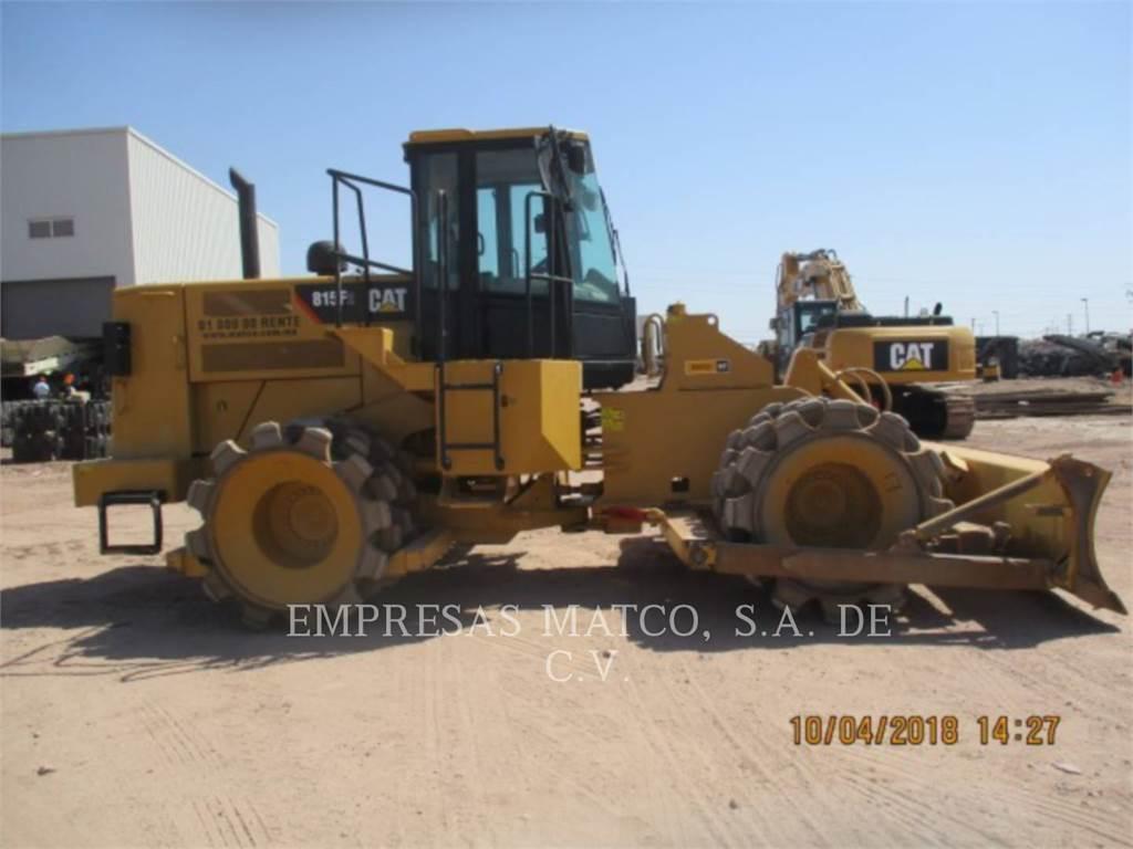 Caterpillar 815FII, Müllverdichter, Bau-Und Bergbauausrüstung