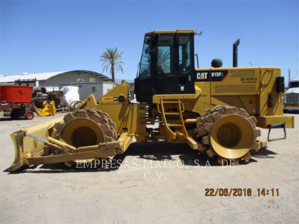 Caterpillar 815FII, Compactadores, Equipamentos Construção