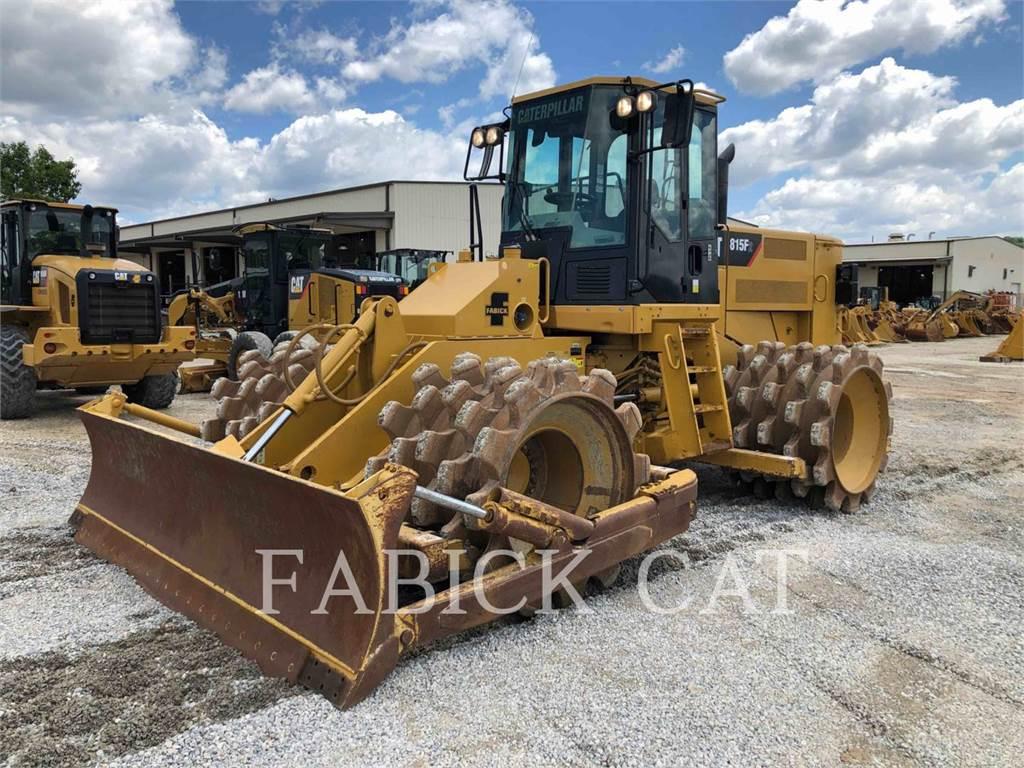 Caterpillar 815FII, Verdichter, Bau-Und Bergbauausrüstung