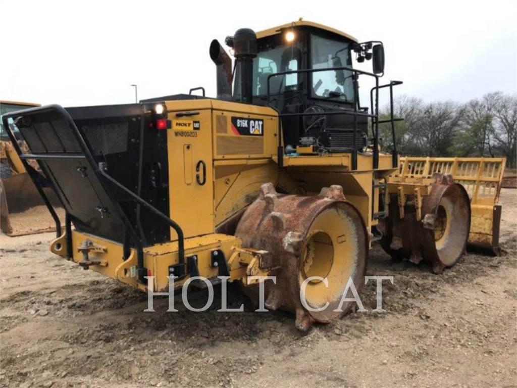 Caterpillar 816K, Müllverdichter, Bau-Und Bergbauausrüstung