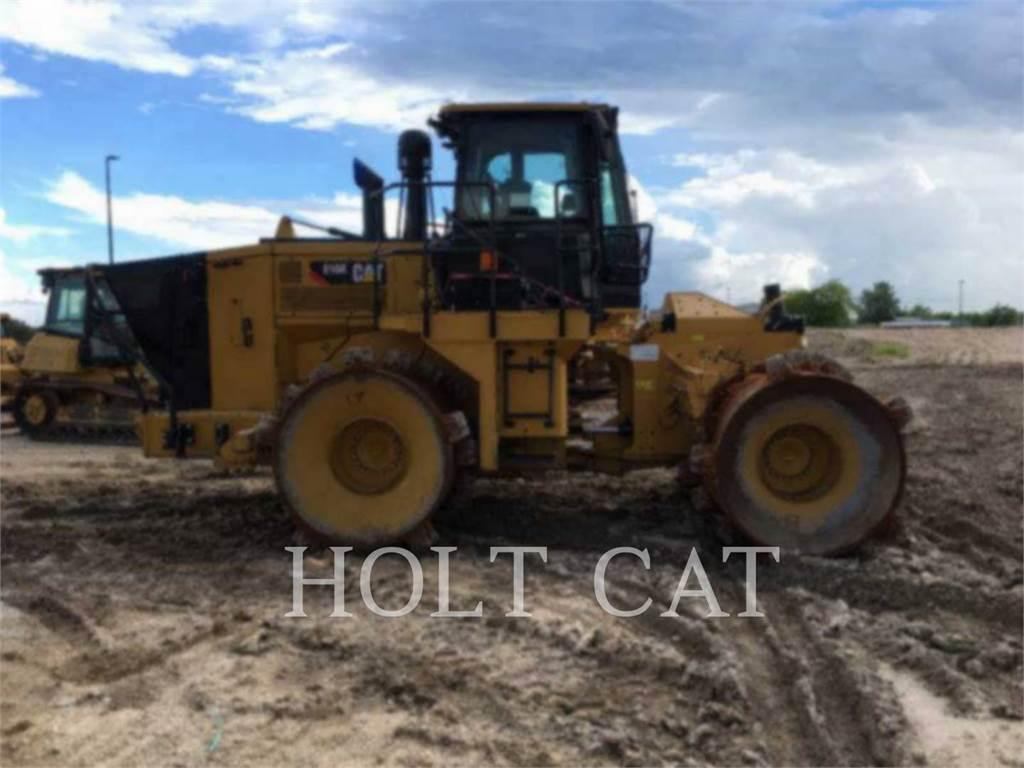 Caterpillar 816K, Compactadores, Equipamentos Construção