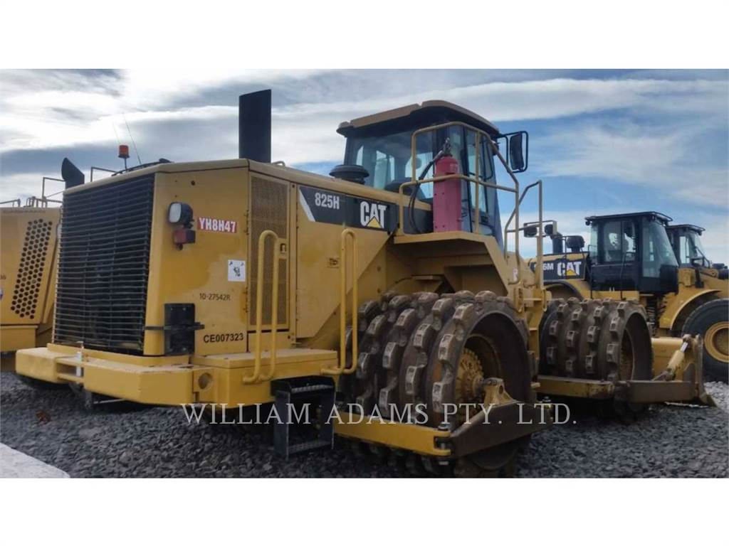 Caterpillar 825H, Soil Compactors, Construction