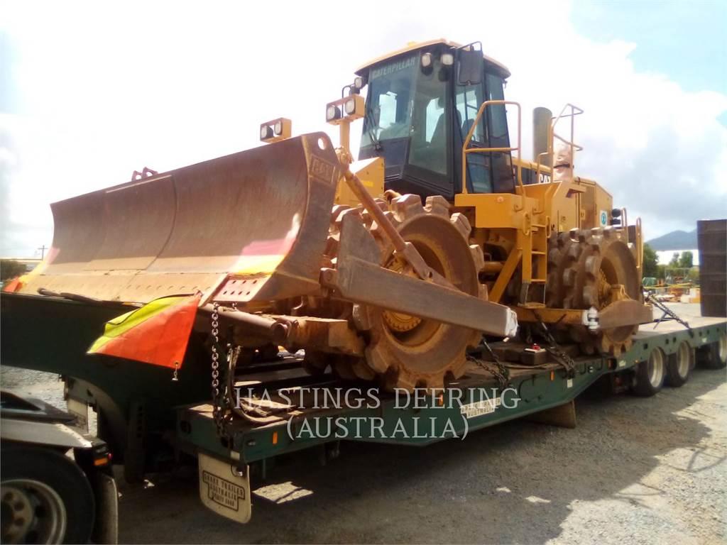 Caterpillar 825H, Compactadores, Equipamentos Construção