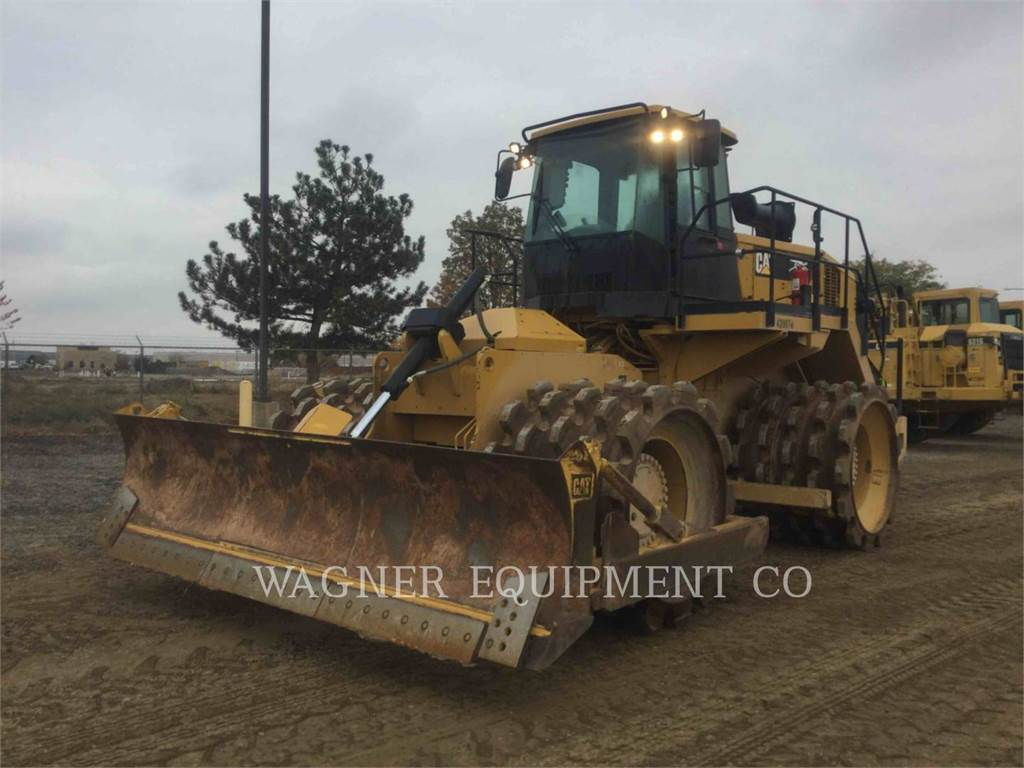 Caterpillar 825K, Waste Compactors, Construction