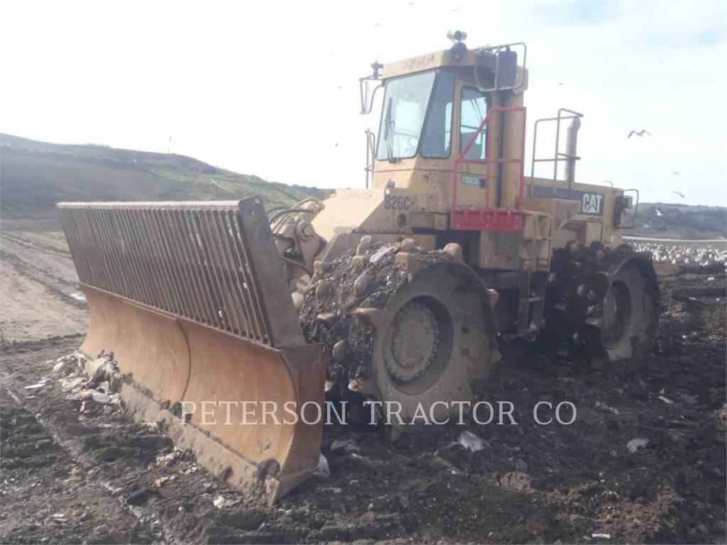 Caterpillar 826CERTC, Verdichter, Bau-Und Bergbauausrüstung