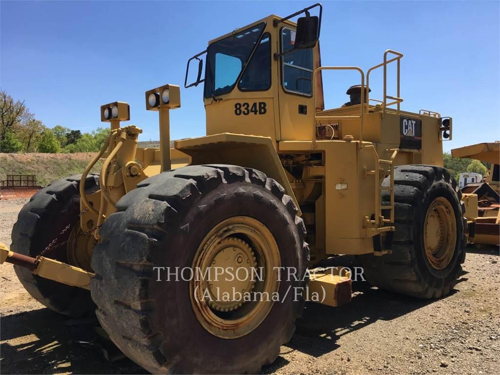Caterpillar 834B, Bulldozer, Équipement De Construction