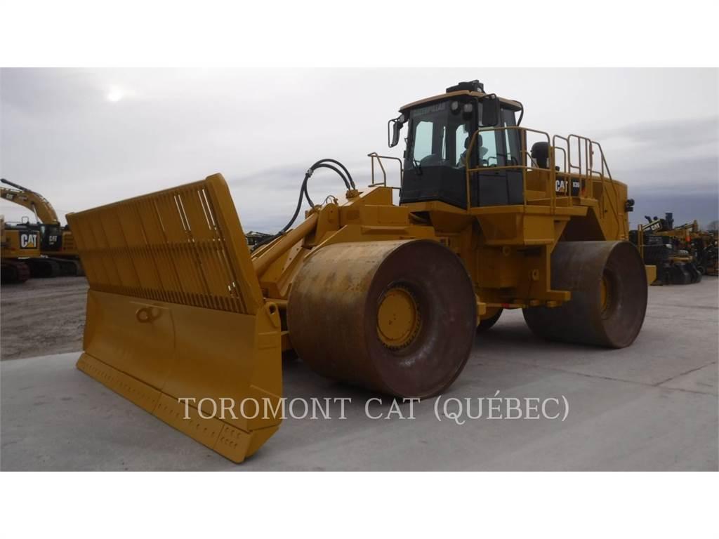 Caterpillar 836H, Compacteurs de déchets, Équipement De Construction
