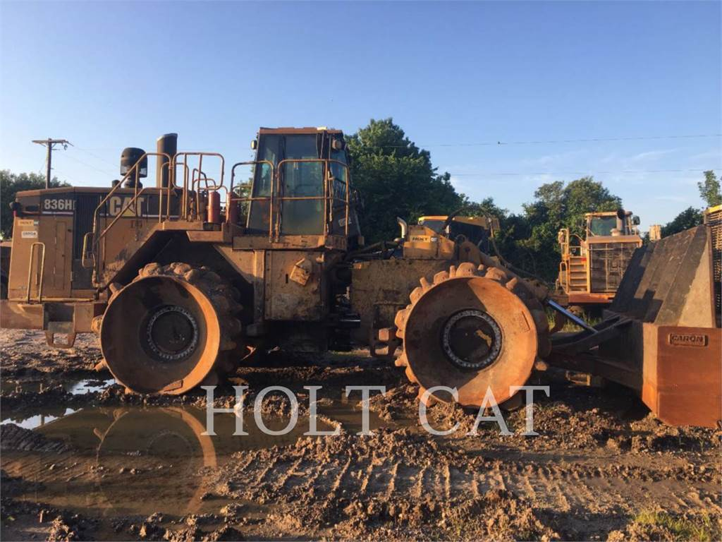 Caterpillar 836H, Compactors, Construction