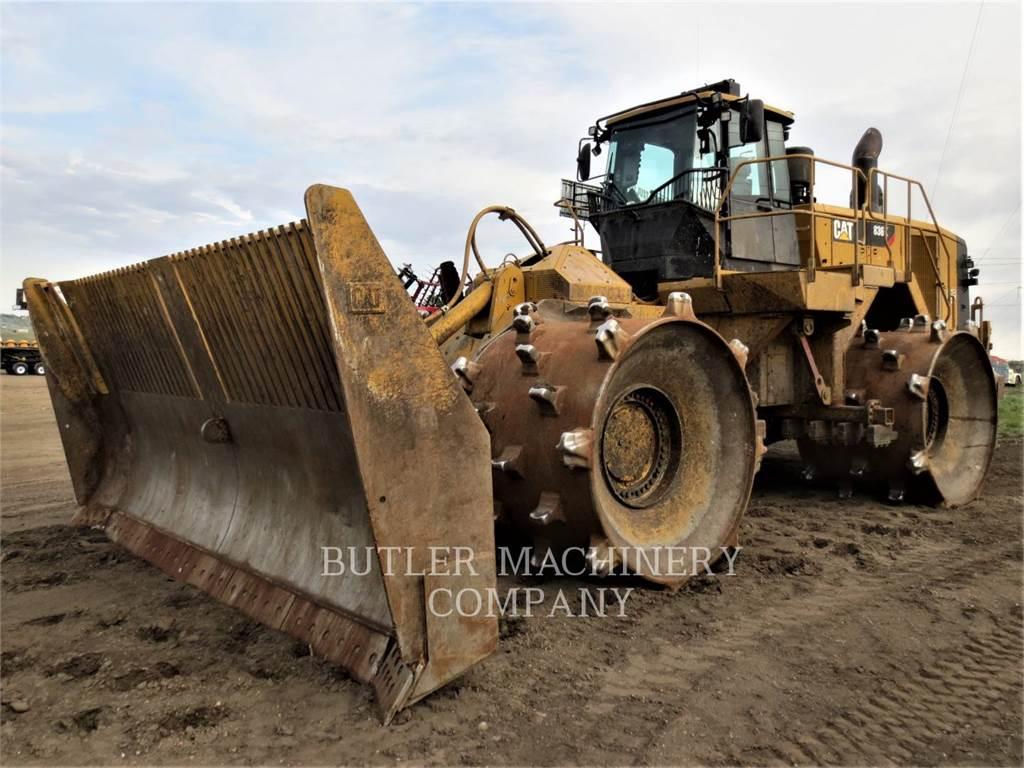 Caterpillar 836K、ソイルコンパクター、建設