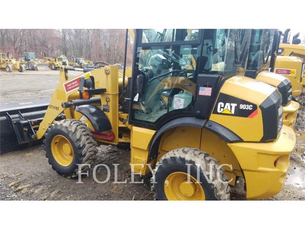 Caterpillar 903C, Ładowarki kołowe, Sprzęt budowlany