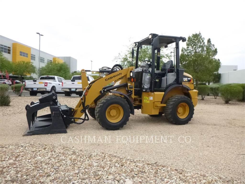 Caterpillar 903D, Incarcator pe pneuri, Constructii