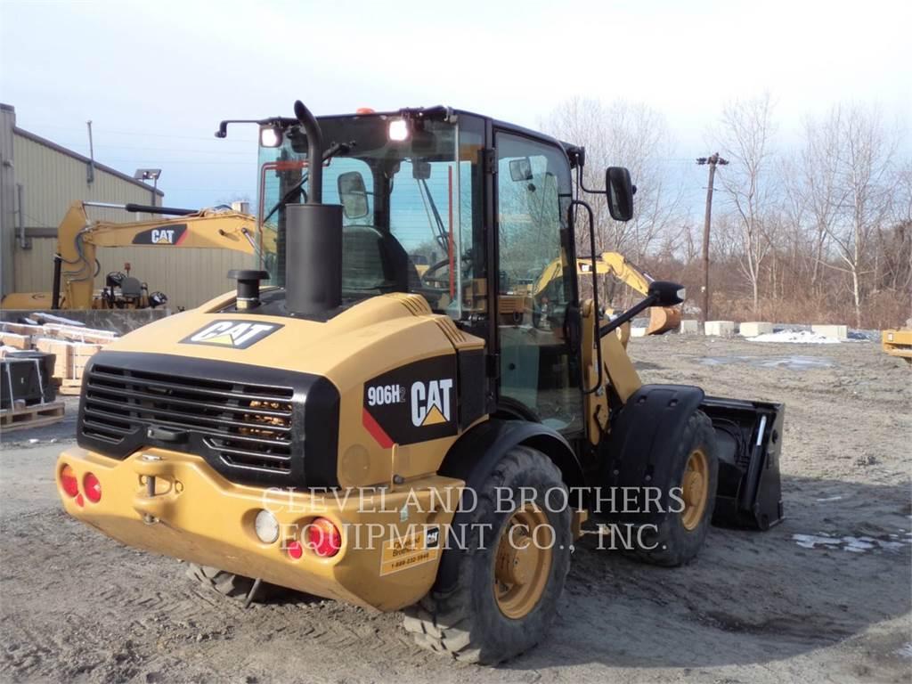 Caterpillar 906H2、ホイールローダー、建設