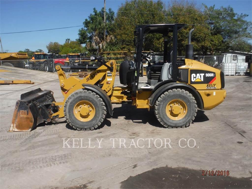 Caterpillar 906H2, Chargeuse sur pneus, Équipement De Construction