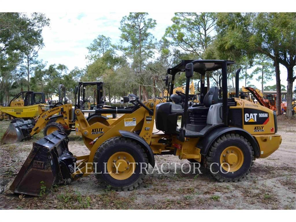 Caterpillar 906M, Chargeuse sur pneus, Équipement De Construction
