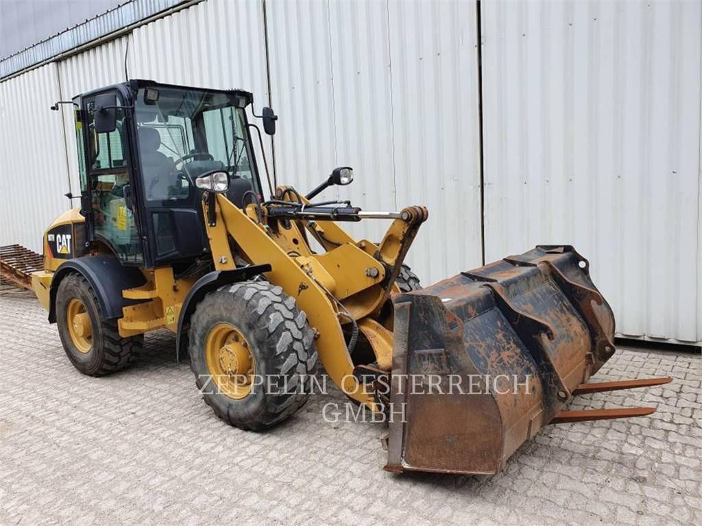 Caterpillar 907H 35KM/H, Pás carregadoras de rodas, Equipamentos Construção