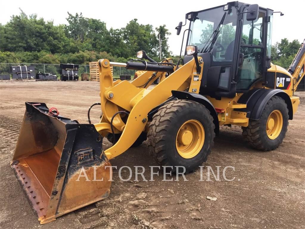 Caterpillar 908H, Chargeuse sur pneus, Équipement De Construction