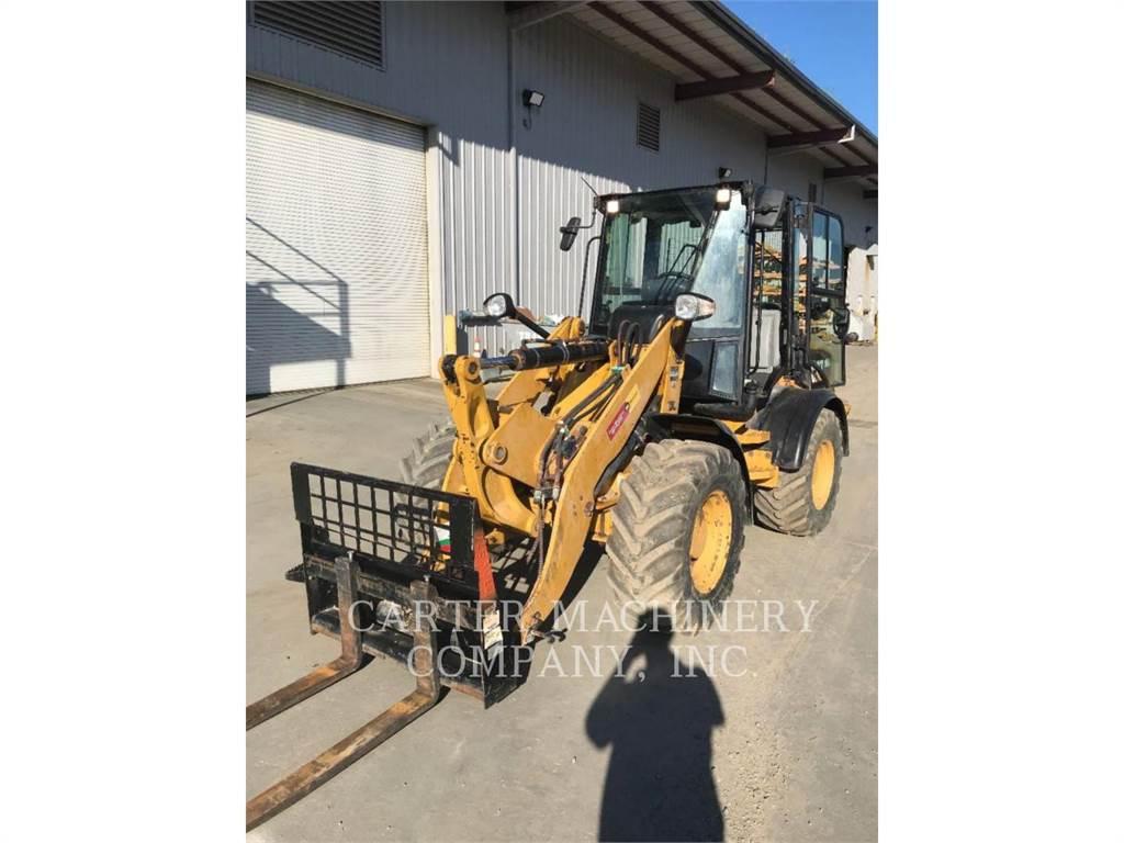 Caterpillar 908H2、ホイールローダー、建設