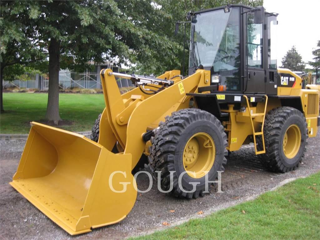 Caterpillar 910H, Cargadoras sobre ruedas, Construcción