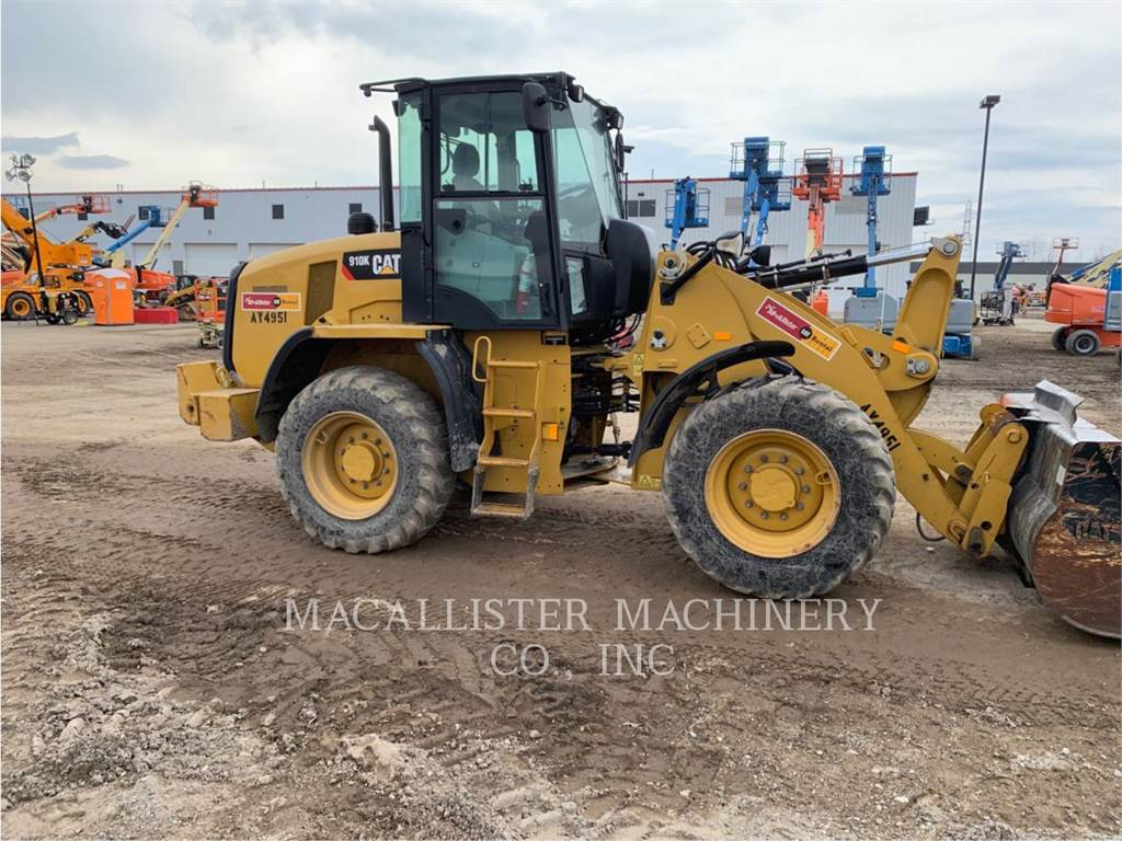 Caterpillar 910K, Wheel Loaders, Construction