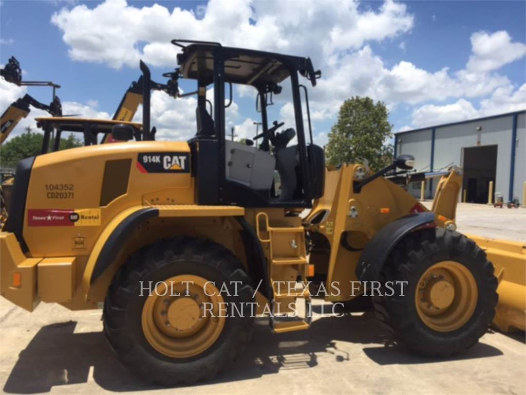 Caterpillar 914 K, Radlader, Bau-Und Bergbauausrüstung