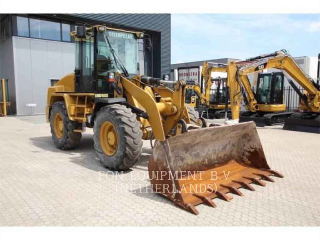 Caterpillar 914GII, Incarcator pe pneuri, Constructii