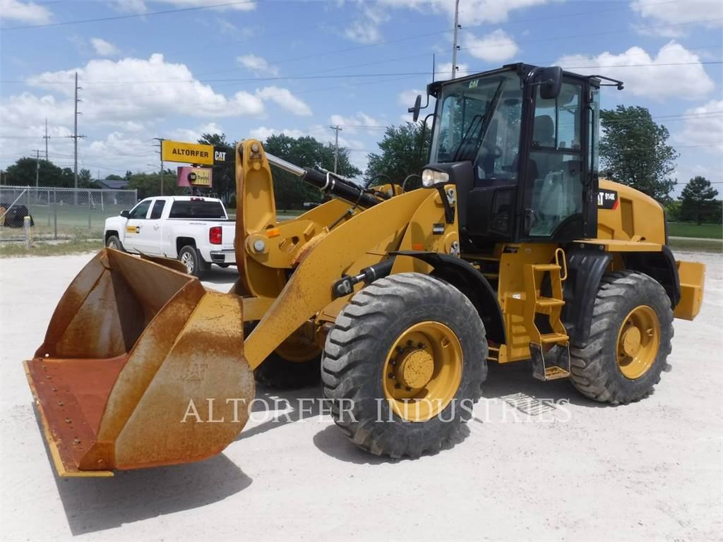 Caterpillar 914K, Wheel Loaders, Construction