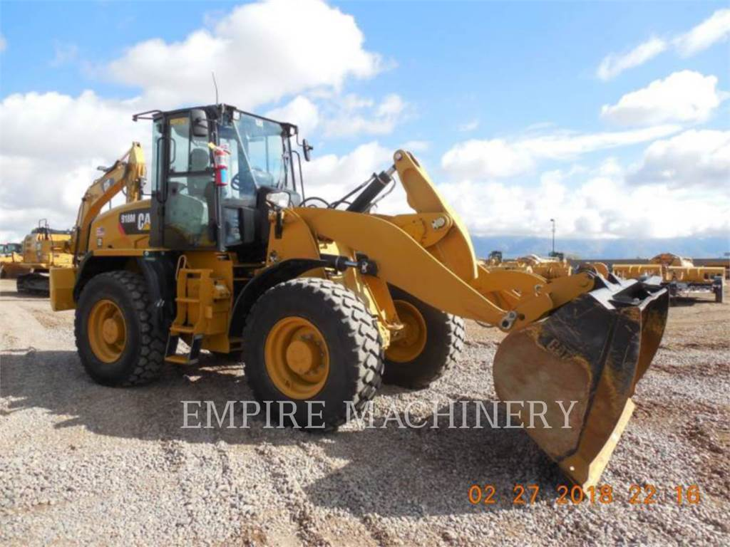 Caterpillar 918M, Wheel Loaders, Construction