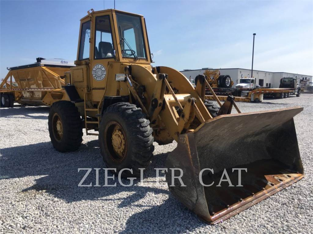 Caterpillar 920, Wheel Loaders, Construction