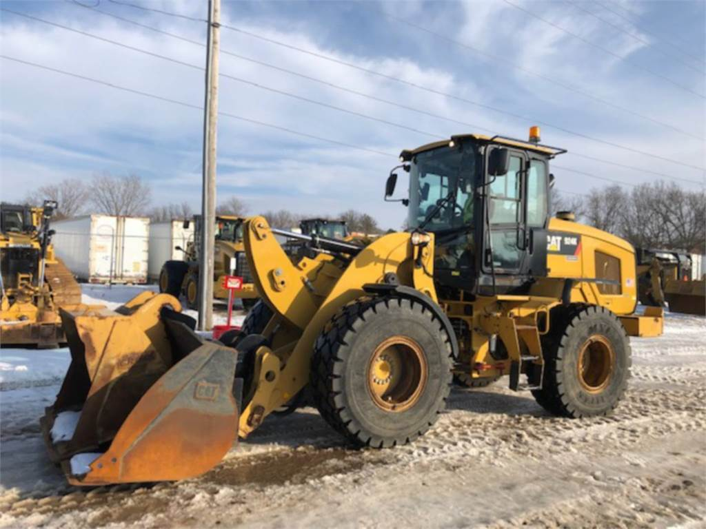 Caterpillar 924 K, Wheel Loaders, Construction