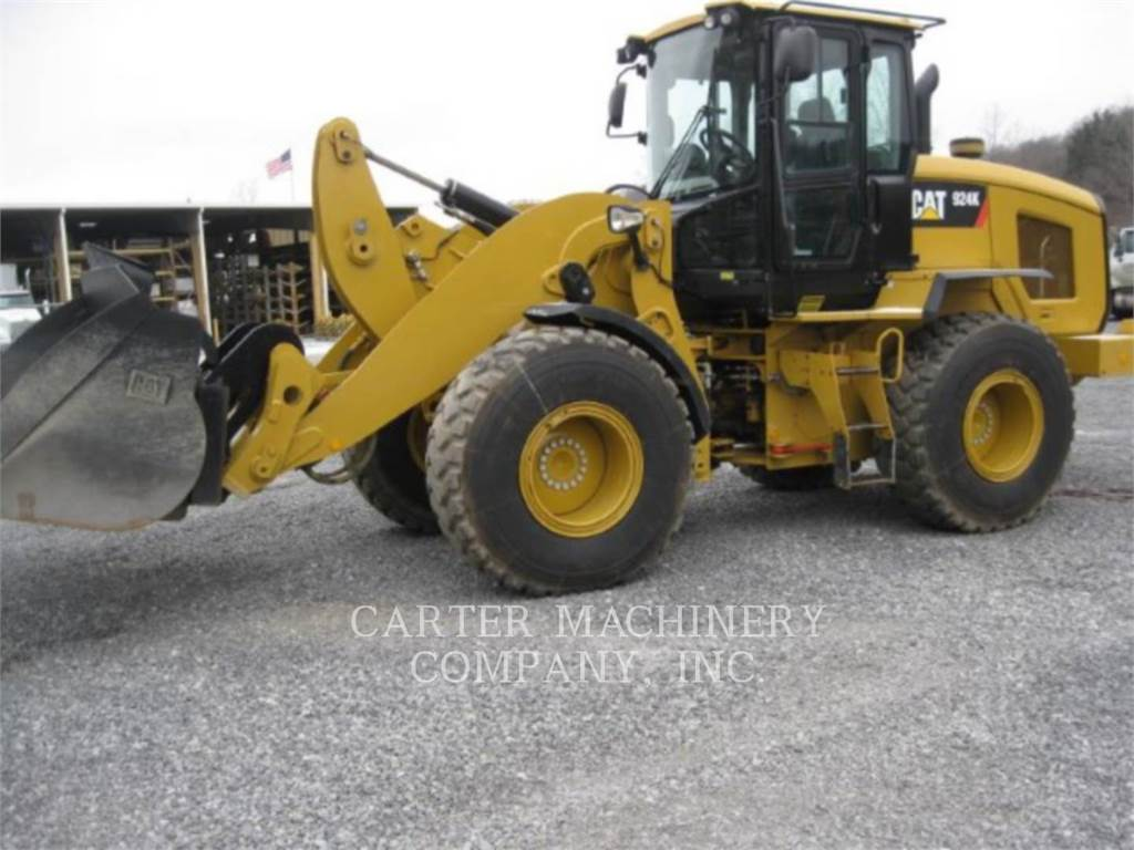 Caterpillar 924 K, Wheel Loaders, Construction