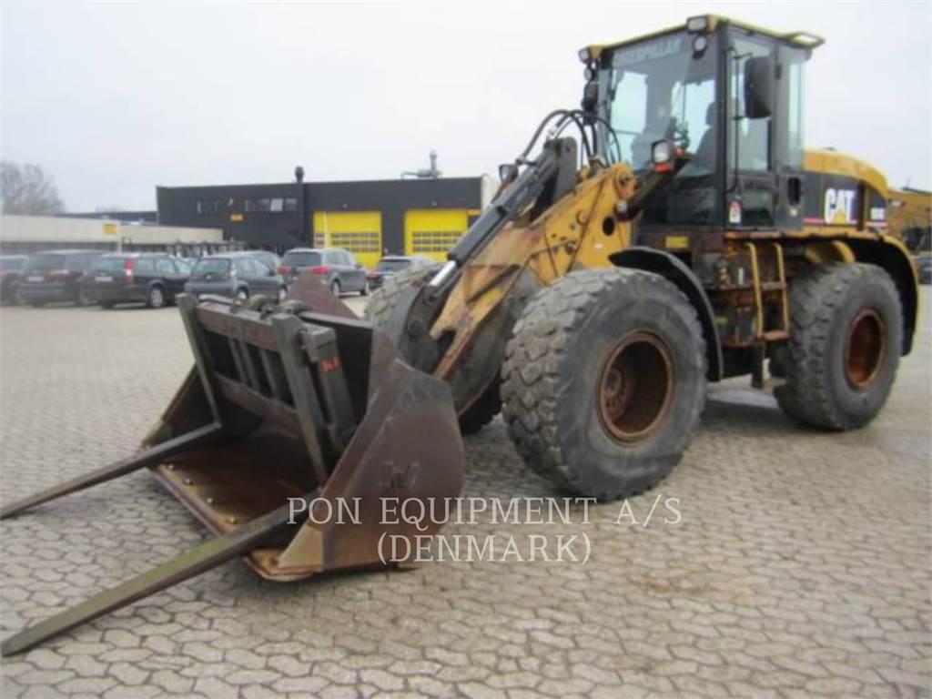 Caterpillar 924G, Incarcator pe pneuri, Constructii