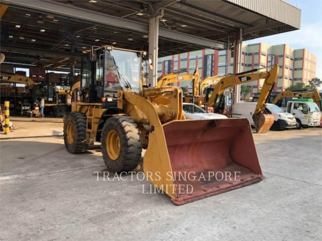 Caterpillar 924GZ, Pás carregadoras de rodas, Equipamentos Construção