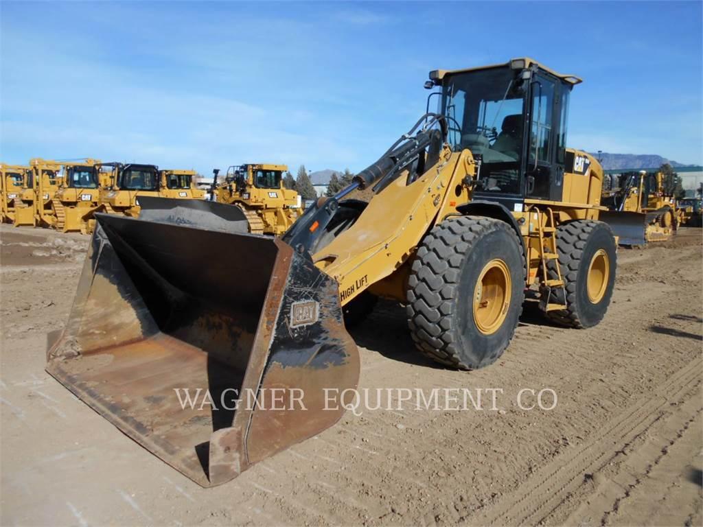Caterpillar 924H、ホイールローダー、建設