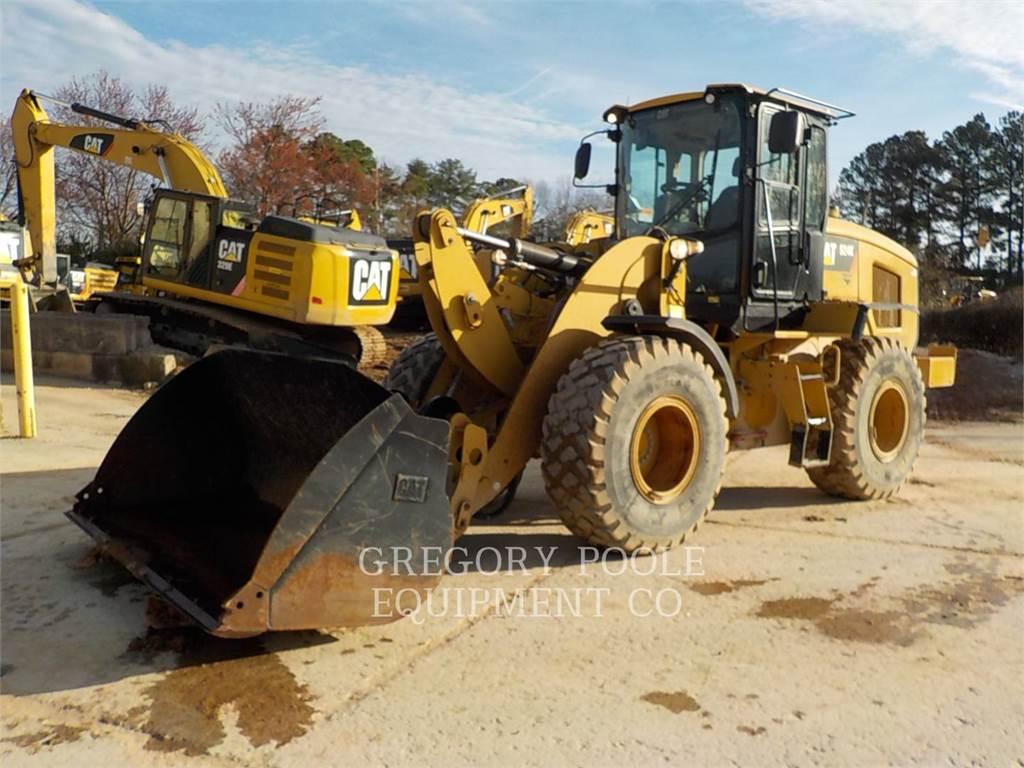 Caterpillar 924K, Ładowarki kołowe, Sprzęt budowlany