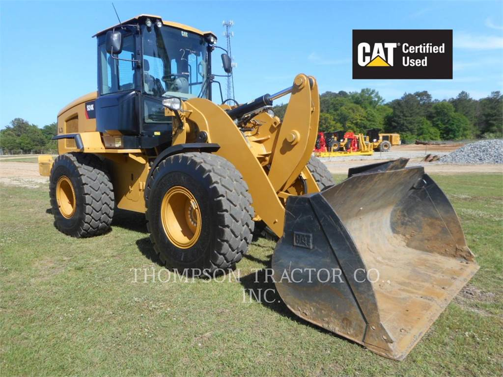 Caterpillar 924K, Wheel Loaders, Construction