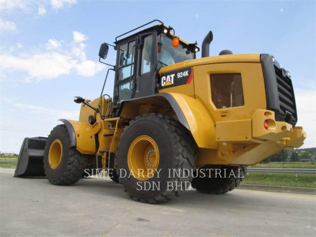 Caterpillar 924K, Cargadoras sobre ruedas, Construcción