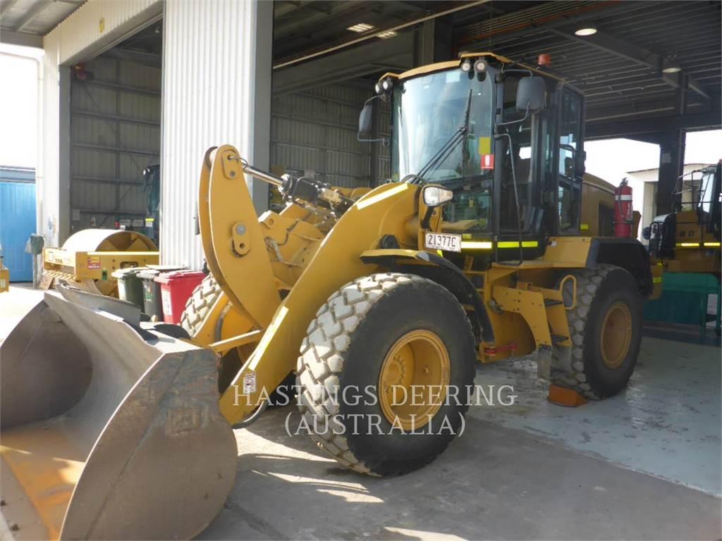 Caterpillar 924K, Wielladers, Bouw