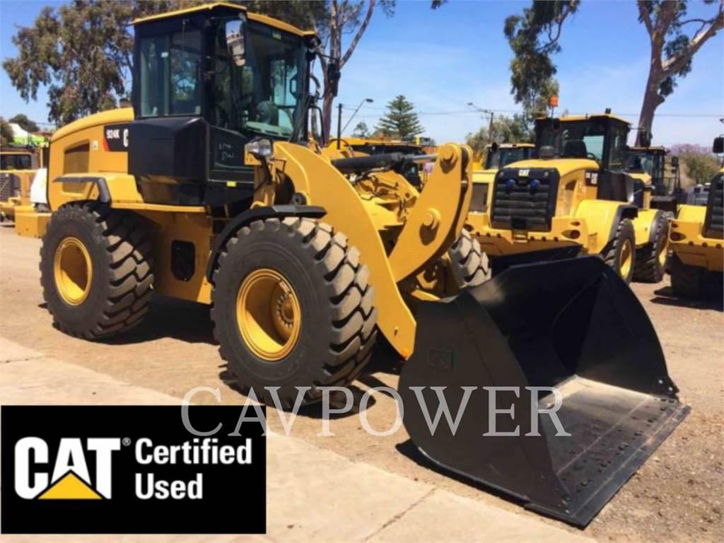 Caterpillar 924K, Incarcator pe pneuri, Constructii
