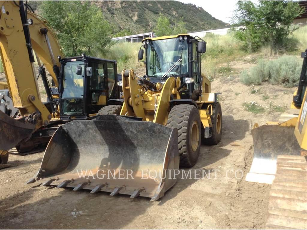 Caterpillar 924K FC, Incarcator pe pneuri, Constructii