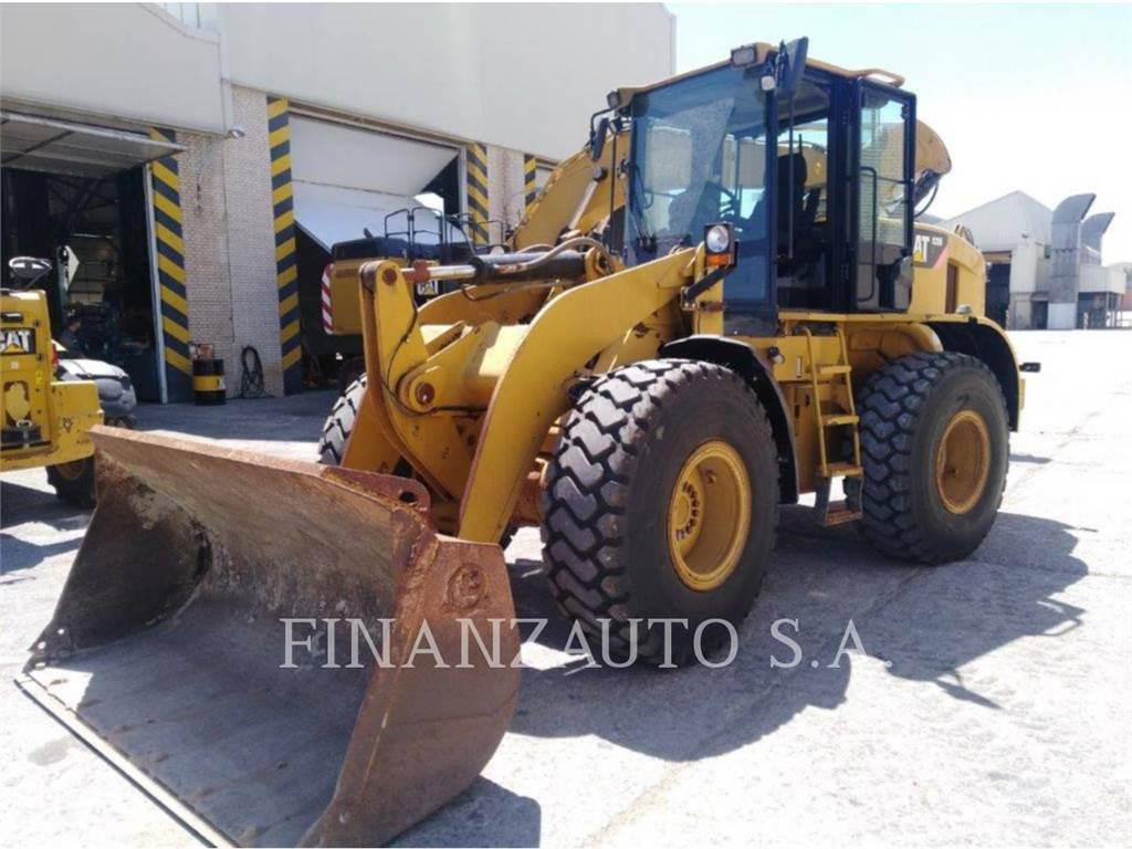 Caterpillar 928HZ, Incarcator pe pneuri, Constructii