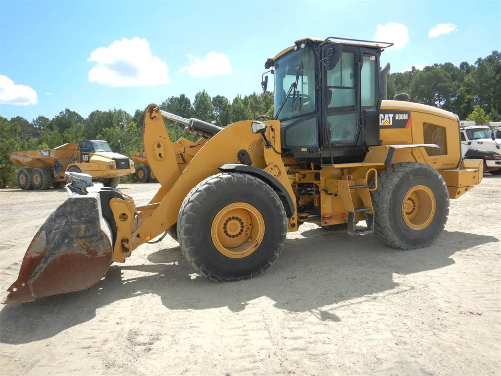 Caterpillar 930 M, Wheel Loaders, Construction