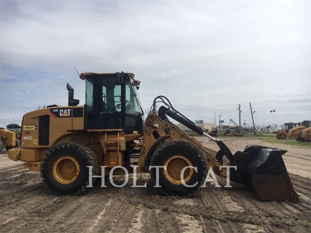 Caterpillar 930H, Incarcator pe pneuri, Constructii