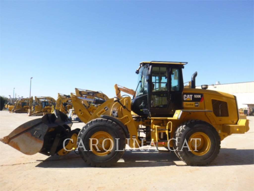 Caterpillar 930K, Cargadoras sobre ruedas, Construcción