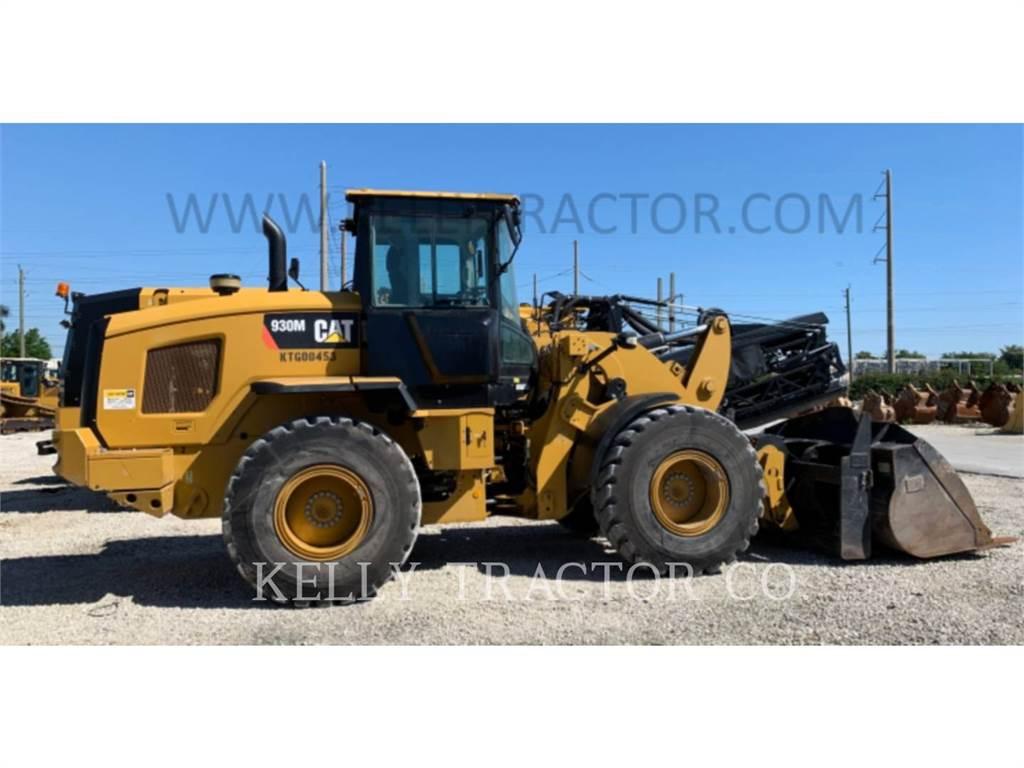 Caterpillar 930M, Incarcator pe pneuri, Constructii