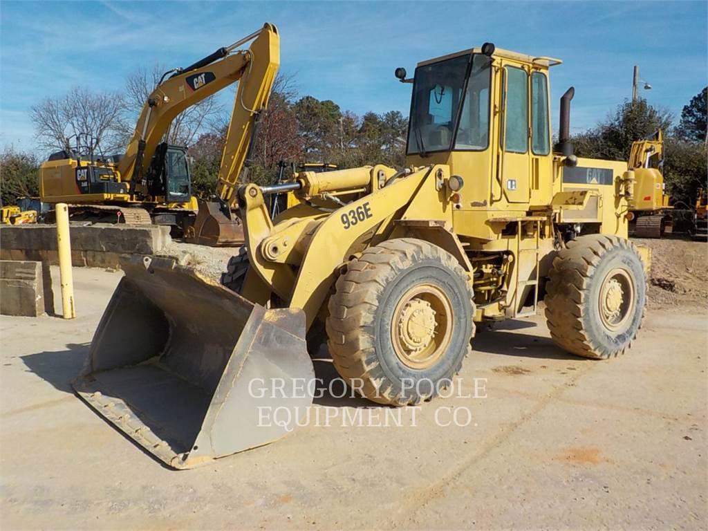 Caterpillar 936E, Chargeuse sur pneus, Équipement De Construction