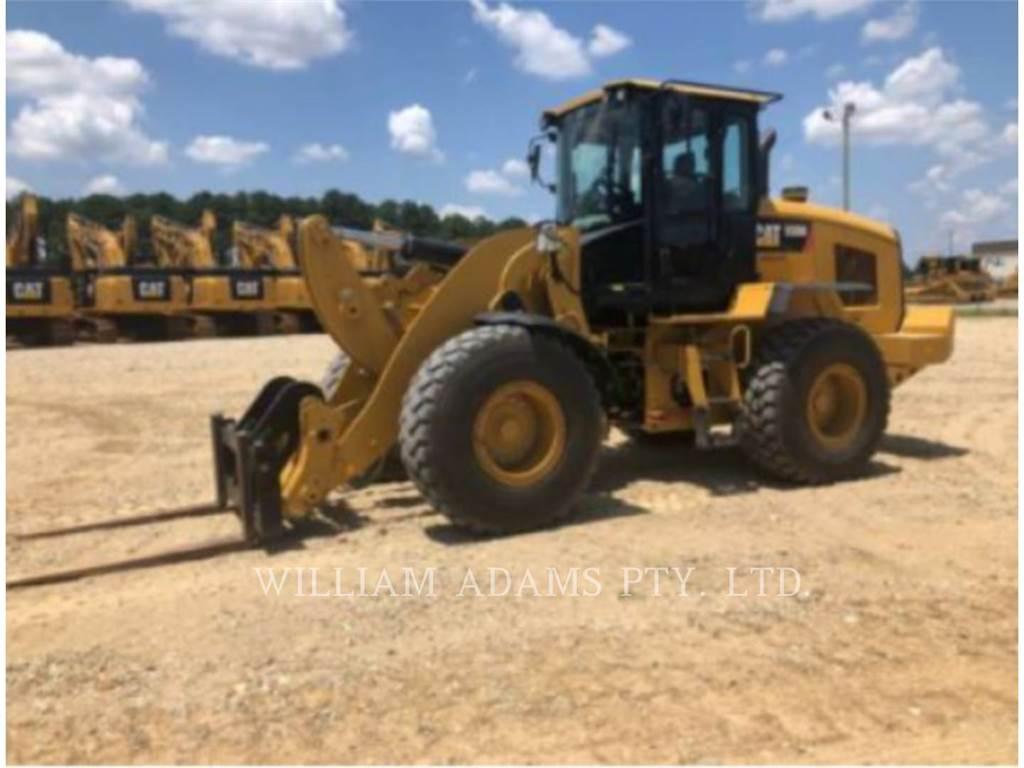 Caterpillar 938, Wheel Loaders, Construction