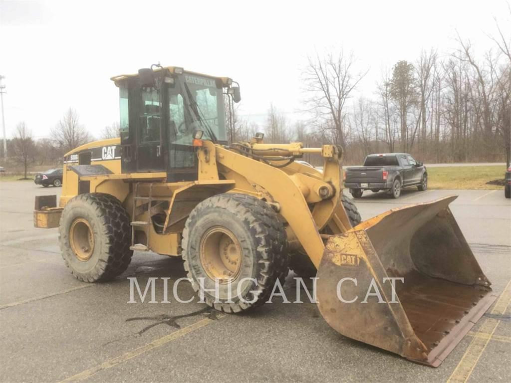 Caterpillar 938 G, Incarcator pe pneuri, Constructii